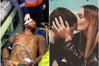 """Nina Moric: """"Fabrizio Corona sta bene dopo l'aggressione, non è vero che Carlos era con lui"""""""