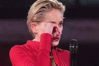 """Medaglia al Merito per Sharon Stone, l'attrice in lacrime: """"Ritroviamo il senso di umanità"""""""