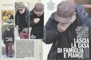 """Paolo Virzì lascia la casa in cui viveva con Micaela Ramazzotti: """"Non trattiene il dolore e piange"""""""