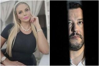 """Francesca Cipriani: """"Salvini è un vero uomo, gli scrivo 'gnam gnam' su Instagram e lui mi risponde"""""""