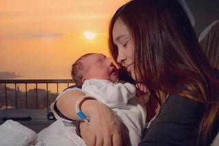 """Ilenia Lazzarin mamma, è nato Raoul: """"Sei già tutta la mia vita, grazie Roberto Palmieri"""""""