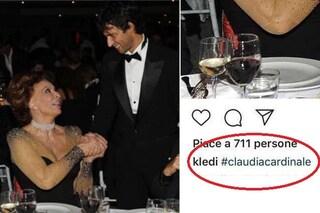 Gaffe clamorosa per Kledi Kadiu, incontra Sophia Loren e la scambia per Claudia Cardinale