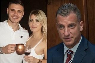 """Maxi Lopez: """"Wanda Nara mi chiama quando Mauro Icardi è in ritiro, non assolveal ruolo di madre"""""""