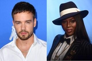 Naomi Campbell e Liam Payne beccati insieme, impazza il gossip sulla modella e il cantante