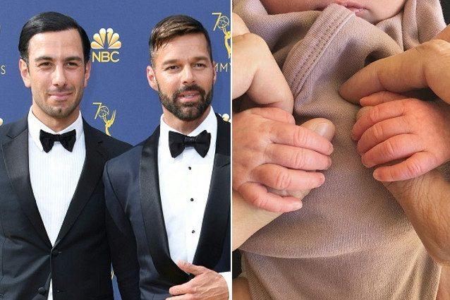 Ricky Martin papà tris, è nata Lucia