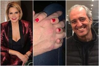 """""""Profondo è l'amore"""", Simona Ventura e Giovanni Terzi si dedicano le prime foto su Instagram"""