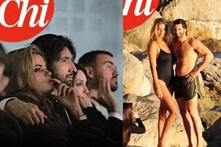 Walter Nudo vicino a Natalia Bush, il vincitore del Gf Vip e la modella insieme a Capri