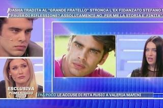 """Dasha Dereviankina addolorata in tv, Stefano Sala: """"Volti pagina"""", accanto a lui c'è Benedetta Mazza"""