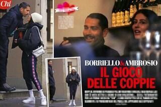"""""""Marco Borriello e Gilda Ambrosio nuova coppia"""", ma tra loro solo un pranzo e un bacio sulla guancia"""