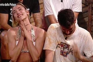 Jeremias Rodriguez con Soleil Sorge, due anni fa assistette alla fine dell'amore con Luca Onestini