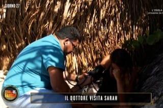 Medico all'Isola dei famosi per Sarah Altobello e Riccardo Fogli, hanno accusato un malore