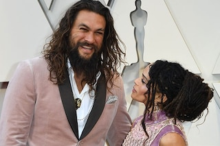 Jason Momoa e Lisa Bonet sono la coppia più bella degli Oscar 2019