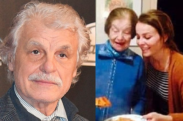 A destra, Maria Iazzetti con la nipote Violante Placido, l'attrice figlia di Michele Placido