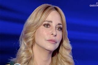 """Stefania Orlando si commuove parlando dell'ex Andrea Roncato: """"Mi ha chiuso la porta"""""""