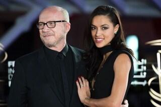 Desirée Popper al braccio del premio Oscar Paul Haggis, fotografati insieme già 3 anni fa