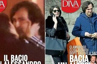 Elisa Isoardi bacia un altro dopo Matteo Salvini, weekend con il playboy Alessandro Di Paolo