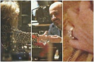 Tina Cipollari riceve in dono un anello dal fidanzato Vincenzo Ferrara