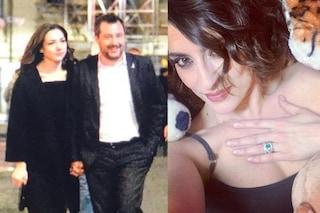 """Matteo Salvini fidanzato, Elisa Isoardi replica col post misterioso: anello al dito e dedica """"Amore"""""""