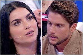 """Uomini e Donne, scontro tra Teresa Langella e Andrea Dal Corso: """"Sei falso, hai 31 anni, cresci"""""""