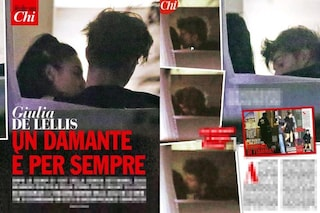 """Giulia De Lellis bacia e perdona Andrea Damante: """"l'anno del mai"""", infine, è arrivato"""