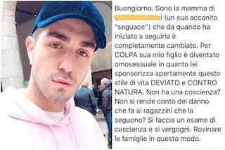 """Tommaso Zorzi, una mamma lo accusa: """"Per colpa tua mio figlio è diventato omosessuale"""""""