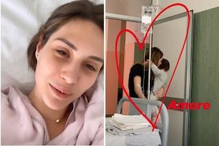 """Beatrice Valli ricoverata in ospedale d'urgenza: """"Fitte alla pancia, stavo davvero male"""""""