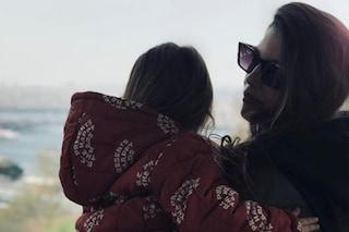 """Francesca Fioretti e la piccola Vittoria Astori: """"Continuerai a guardare il mondo"""""""