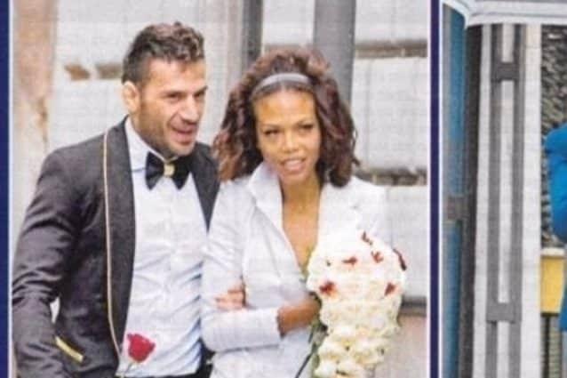 Maddaloni e Romina nel 2016, facevano da testimoni alle nozze di amici