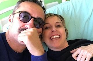 """Nadia Toffa in ospedale per la chemioterapia: """"Si sorride sempre, baci solari"""""""