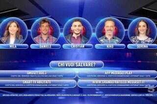 """La quinta puntata del """"Grande Fratello 16"""", eliminato Christian Imparato"""