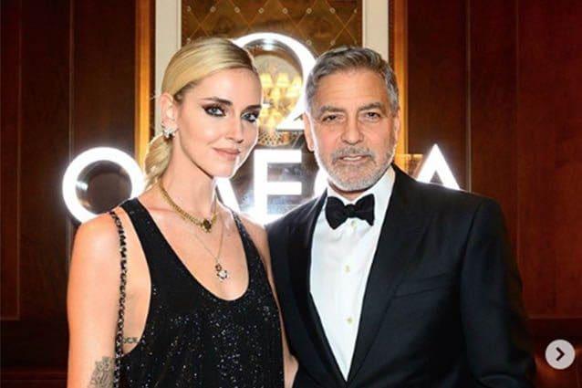 Chiara Ferragni incontra George Clooney: