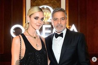 """Chiara Ferragni: """"Adoro George Clooney, ma il mio maritino Fedez rimane il più bello del mondo"""""""