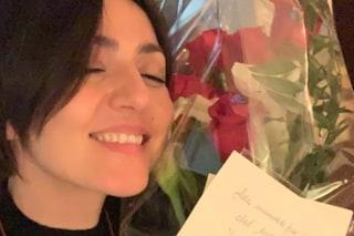 """""""Alla mamma più bella del mondo"""": i fiori di Francesco Renga all'ex compagna Ambra Angiolini"""