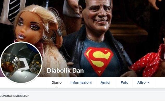 Il profilo che veniva attribuito a Danny Coppi