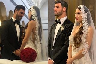 Clarissa Marchese e Federico Gregucci si sono sposati: il fiabesco abito da sposa e gli invitati vip