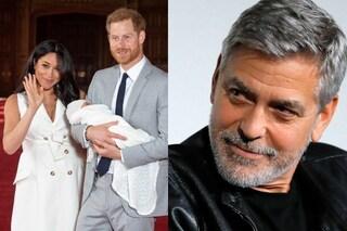 """George Clooney padrino del Royal Baby Archie? Il divo smentisce: """"Faccio a malapena il papà"""""""