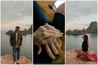 Gli scatti romantici di Belen Rodriguez e Stefano De Martino, seconda luna di miele a Ibiza