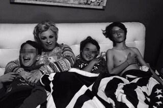 """Tina Cipollari mamma apprensiva: """"Vado in ansia, seguo i miei figli persino in gita"""""""