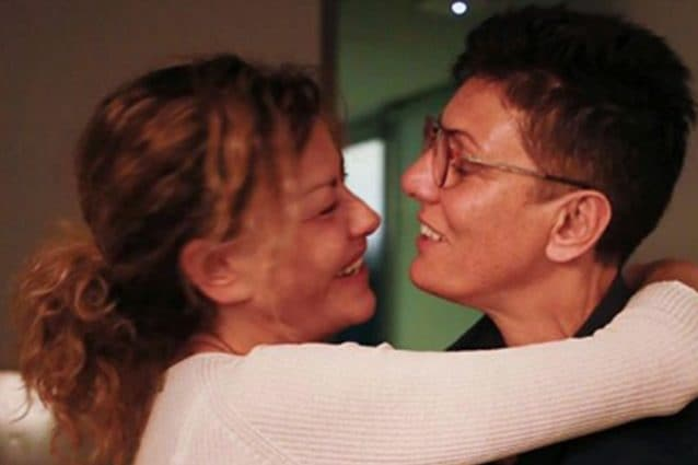 Eva Grimaldi e Imma Battaglia si sono sposate: ospiti e messaggi d'amore
