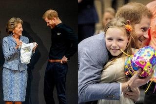 Harry torna a lavoro: i regali della principessa Margriet e di una bambina per Archie Harrison