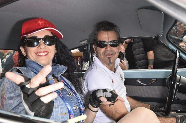 Piero (Pelù) e Gianna (Fratta), il primo duetto insieme aspettando il