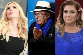 """Al Bano: """"Romina Power non parla con Loredana Lecciso. Non mi piace, sogno la pace tra loro"""""""