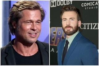 """Brad Pitt e Chris Evans schierati contro la parata per l'orgoglio etero: """"Omofobi"""""""