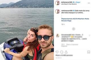 """""""Le piace la moto"""", Stefano Corti con Bianca Atzei e la frecciatina a Max Biaggi"""