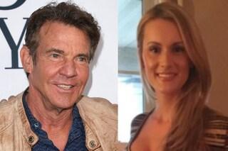 """""""Dennis Quaid fidanzato con la studentessa Laura Savoie, tra loro 39 anni di differenza"""""""