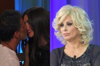 """Kiko Nalli bacia Ambra Lombardo poi viene eliminato, Tina Cipollari: """"Per me è finita la pacchia"""""""