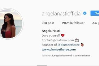 Angela Nasti defollowata in massa, scattato lo stesso meccanismo che si scatenò con Sara Affi Fella
