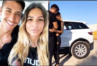 Primo bacio tra Gianmarco Onestini e Erica Piamonte, i due ex Gf escono allo scoperto
