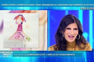 Pamela Prati e il disegno della finta figlia Rebecca: è stato rubato a una mamma su Instagram