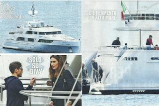 Lo yacht per l'estate di Piersilvio Berlusconi e Silvia Toffanin: 43 metri con Jacuzzi sul ponte